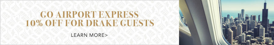 Go Airport Express 10% off for Drake guests. Click to learn more.