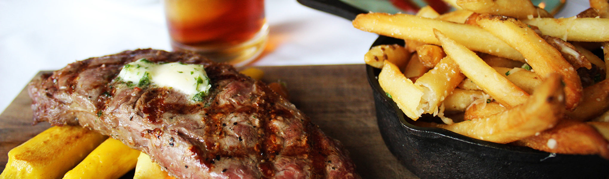 Steak & Whiskey Pour for $45