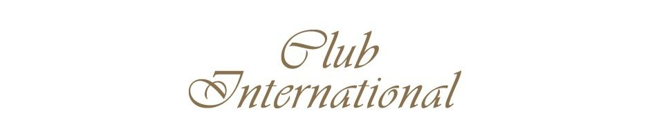 Large menu logo club international