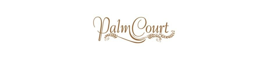 Large menu logo palm court