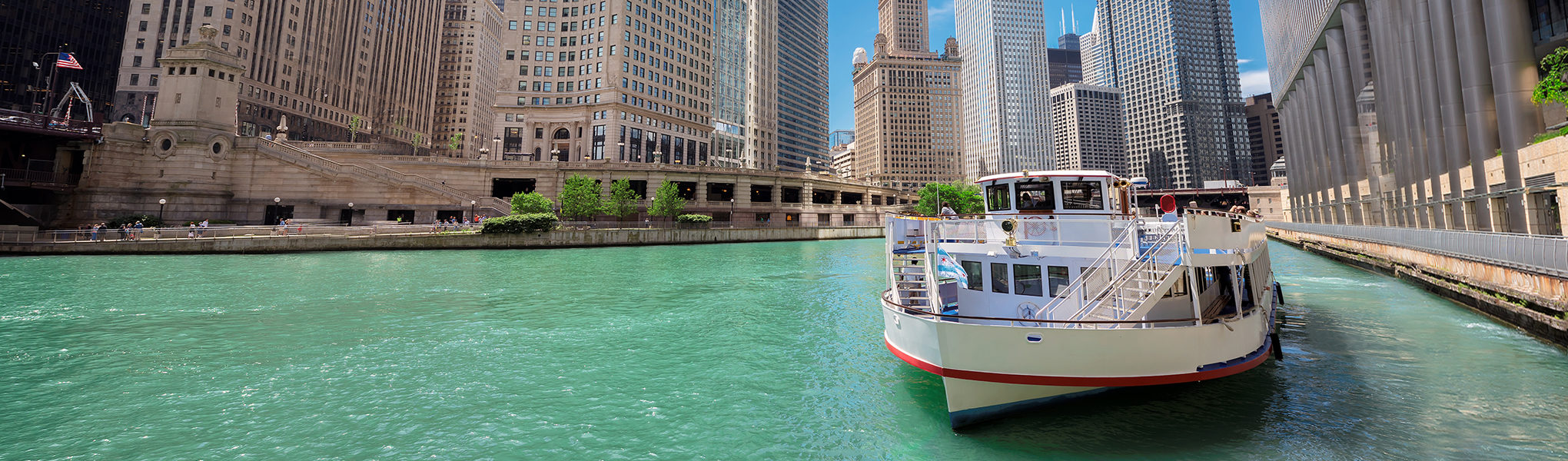 Cruise the River + stroll along The Mag Mile -- LEARN MORE